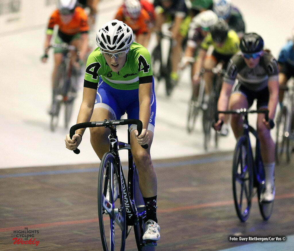 Amsterdam - Netherlands - wielrennen - cycling - radsport - cyclisme - Confalonieri Maria Giulia (ITA) pictured during 6 Six Day Amsterdam women saturday - photo Davy Rietbergen/Cor Vos © 2016