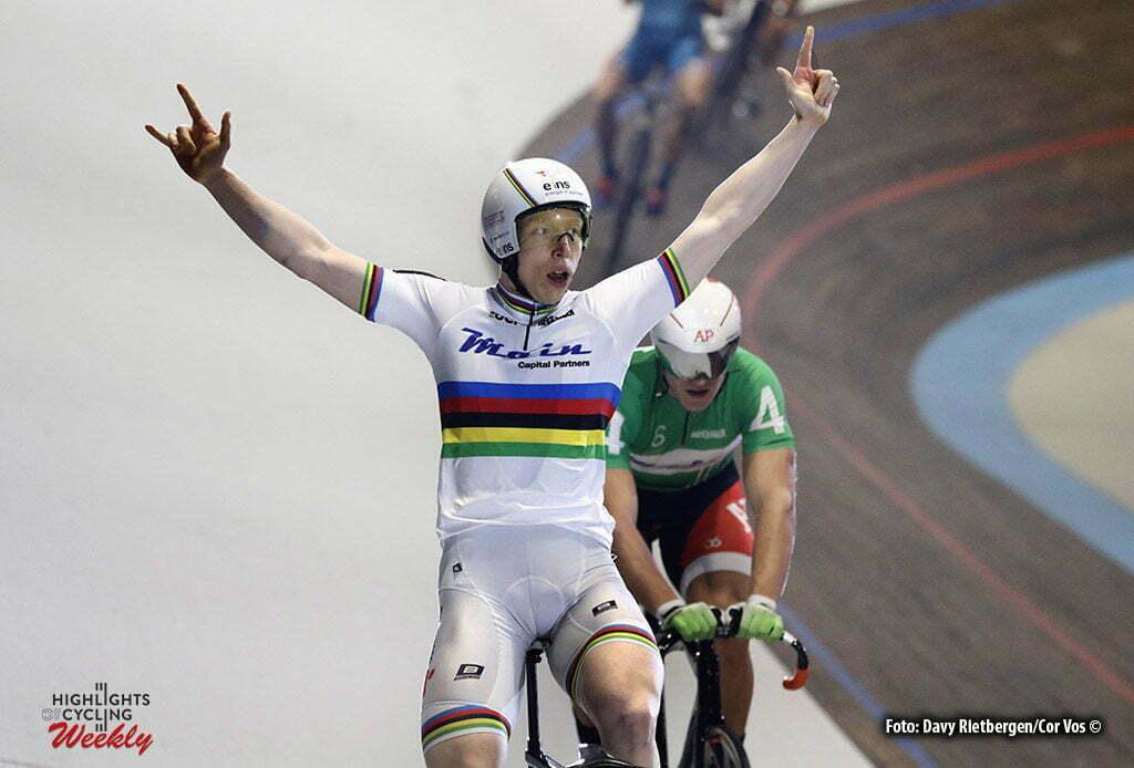 Amsterdam - Netherlands - wielrennen - cycling - radsport - cyclisme - Joachim Eilers (GER) pictured during 6 Six Day Amsterdam day 5 - photo Davy Rietbergen/Cor Vos © 2016