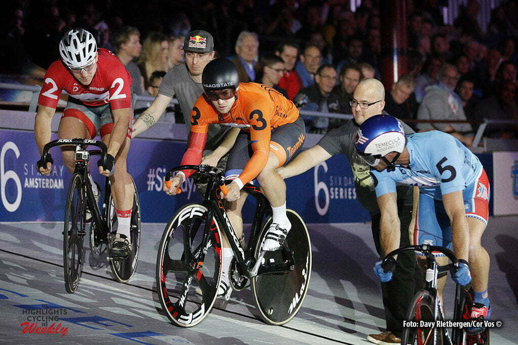 Amsterdam - Netherlands - wielrennen - cycling - radsport - cyclisme - Nils van 't Hoenderdaal (NED) pictured during 6 Six Day Amsterdam day 6 - photo Davy Rietbergen/Cor Vos © 2016