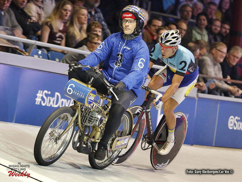 Amsterdam - Netherlands - wielrennen - cycling - radsport - cyclisme - Ron Zijlaard (NED) - Kenny De Ketele (BEL) pictured during 6 Six Day Amsterdam day 6 - photo Davy Rietbergen/Cor Vos © 2016