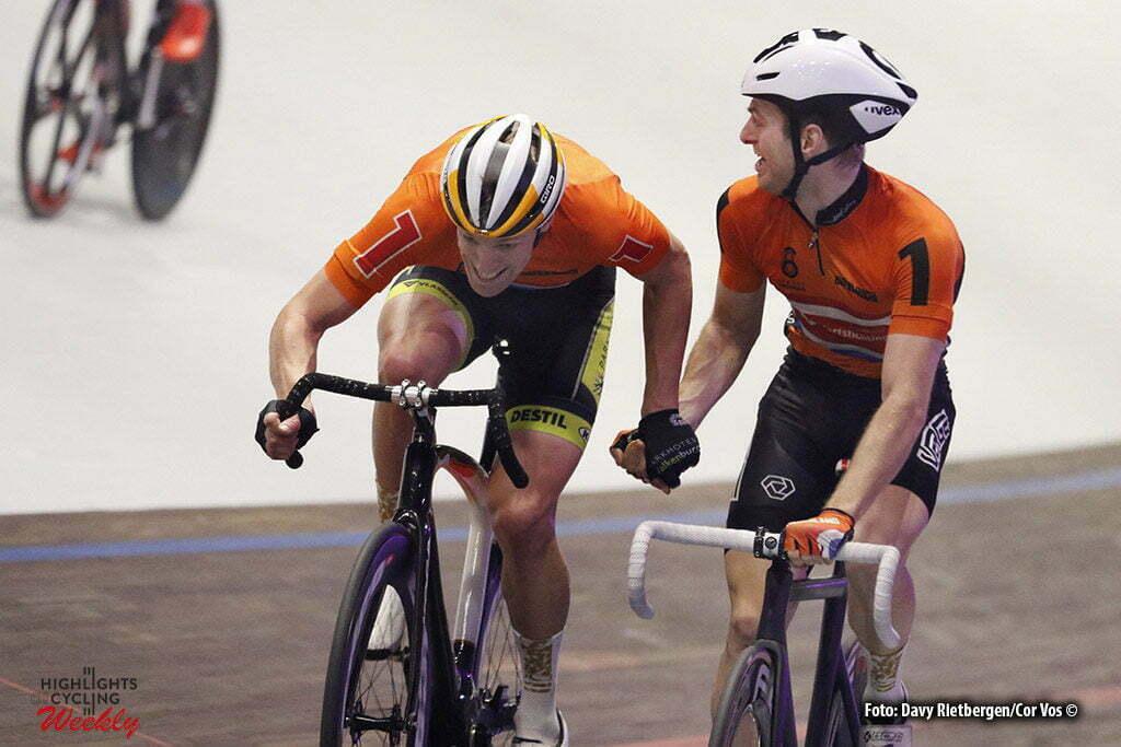 Amsterdam - Netherlands - wielrennen - cycling - radsport - cyclisme - Wim Stroetinga (NED) - Yoeri Havik (NED) pictured during 6 Six Day Amsterdam day 6 - photo Davy Rietbergen/Cor Vos © 2016