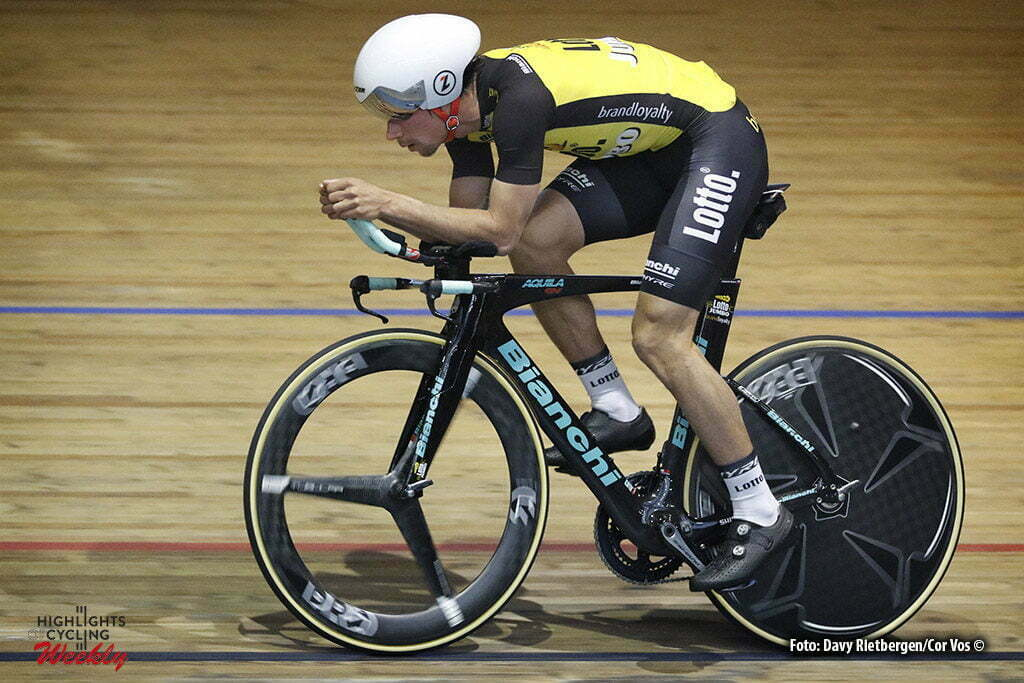 Alkamar - Netherlands - wielrennen - cycling - radsport - cyclisme - Primoz ROGLIC (Slowenia / Team Lotto NL - Jumbo) pictured during Aerodynamica test team LottoN L-Jumbo on the Velodrome in Alkmaar, the Netherlands - photo Davy Rietbergen/Cor Vos © 2017
