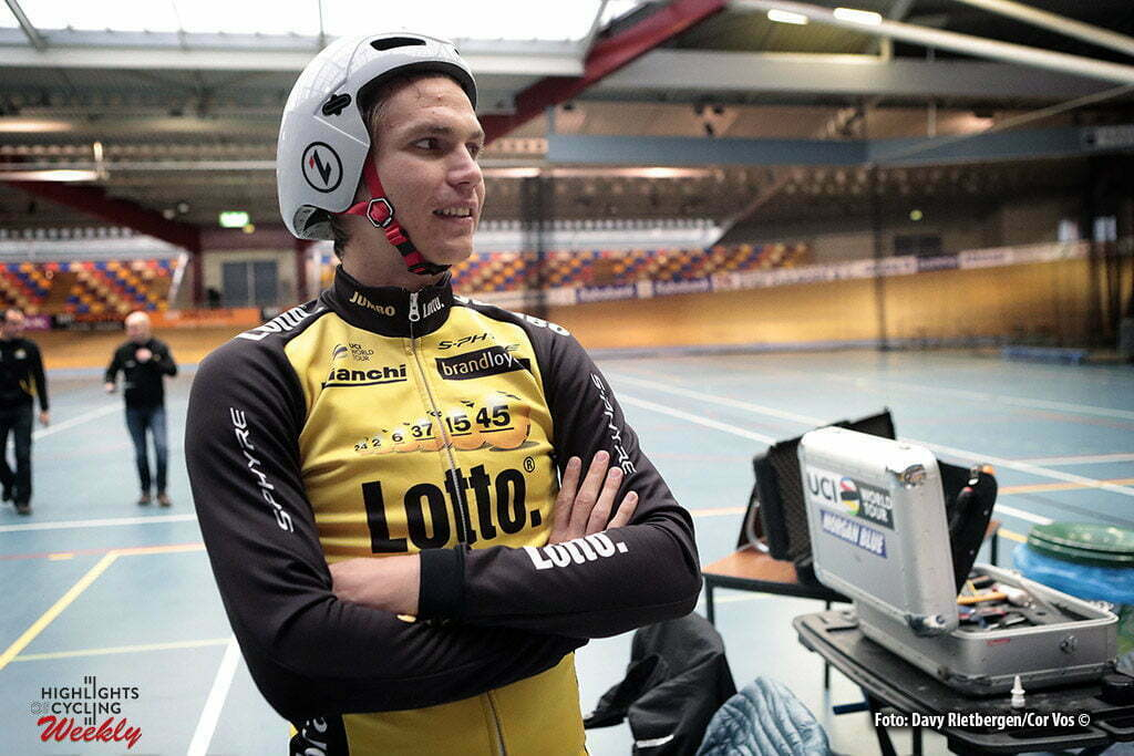 Alkamar - Netherlands - wielrennen - cycling - radsport - cyclisme - Amund Grondahl JANSEN (Norway / Team Lotto NL - Jumbo) pictured during Aerodynamica test team LottoN L-Jumbo on the Velodrome in Alkmaar, the Netherlands - photo Davy Rietbergen/Cor Vos © 2017