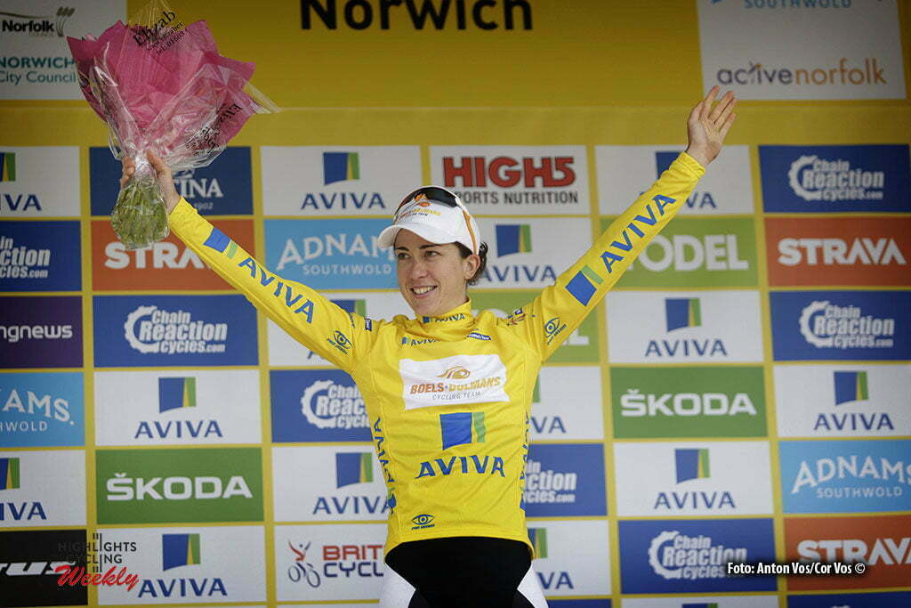 Norwich - England - wielrennen - cycling - radsport - cyclisme - Majerus Christine (Luxembourg / Boels Dolmans Cycling Team) pictured during Women's Tour of Great Britain stage- 1 from Southwold to Norwich - photo Anton Vos/Cor Vos © 2016