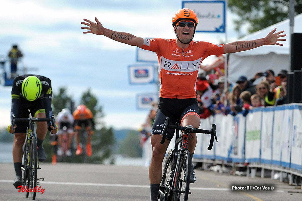 Drayton Valley - Canada - wielrennen - cycling - radsport - cyclisme - Evan Huffman (Rally Cycling) pictured during Stage 3 of the Tour of Alberta 2016 from Rocky Mountain House - Drayton Valley - photo Brian Hodes/Cor Vos © 2016