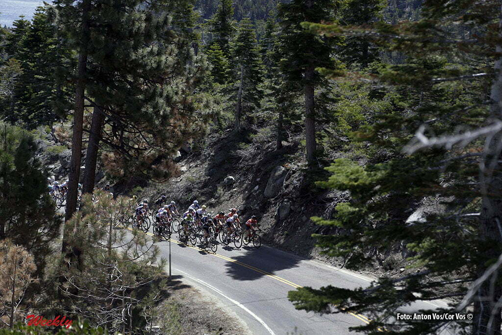 Lake Tahoe - USA - wielrennen - cycling - radsport - cyclisme - illustration - sfeer - illustratie pictured during stage - 1 of the the Amgen Breakaway From Heart Disease Women's Race from Lake Tahoe to Lake Tahoe - photo Anton Vos/Cor Vos © 2016