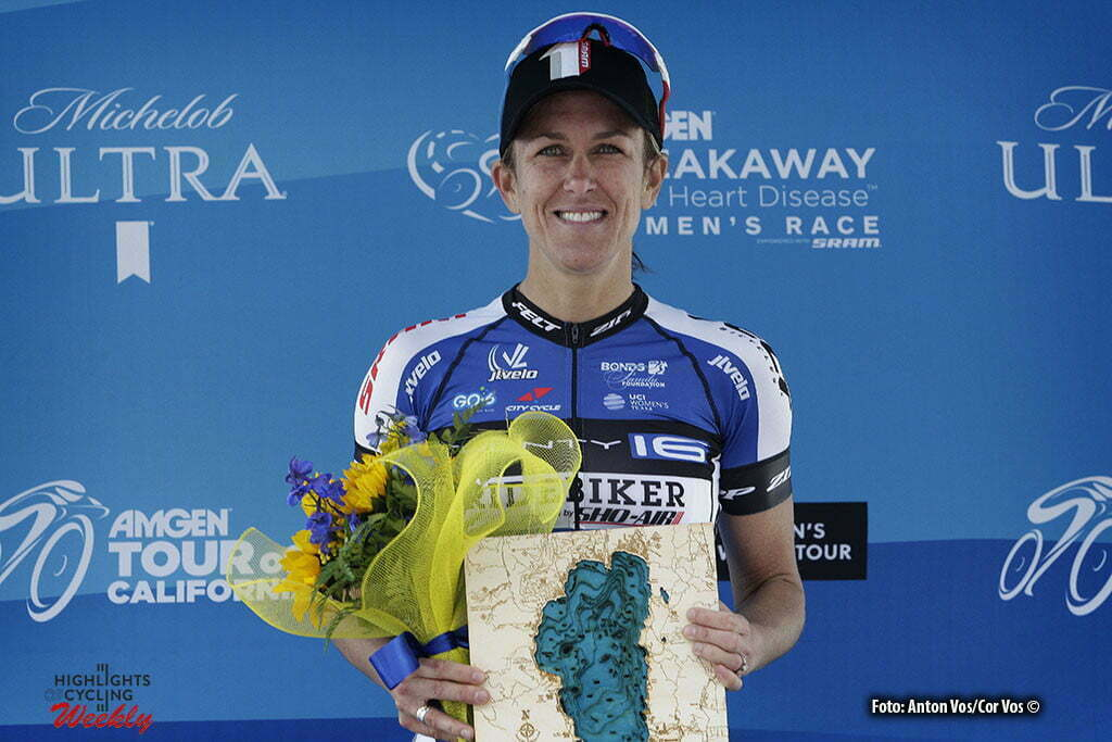 Lake Tahoe - USA - wielrennen - cycling - radsport - cyclisme - Armstrong Kristin (USA / Twenty 16 Bikerider) pictured during stage - 1 of the the Amgen Breakaway From Heart Disease Women's Race from Lake Tahoe to Lake Tahoe - photo Anton Vos/Cor Vos © 2016