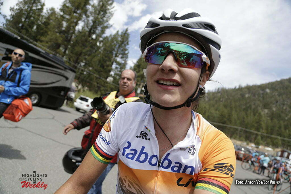 Lake Tahoe - USA - wielrennen - cycling - radsport - cyclisme - Vos Marianne (Netherlands / Rabobank Liv Women Cycling Team) pictured during stage - 1 of the the Amgen Breakaway From Heart Disease Women's Race from Lake Tahoe to Lake Tahoe - photo Anton Vos/Cor Vos © 2016