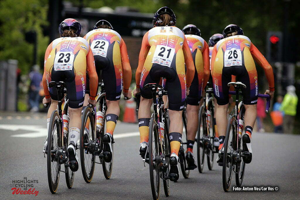 Folsom - USA - wielrennen - cycling - radsport - cyclisme - Boels Dolmans Cycling Team pictured during stage - 2 of the Amgen Breakaway From Heart Disease Women's Race from Folsom to Folsom TTT 20,3 km - photo Anton Vos/Cor Vos © 2016