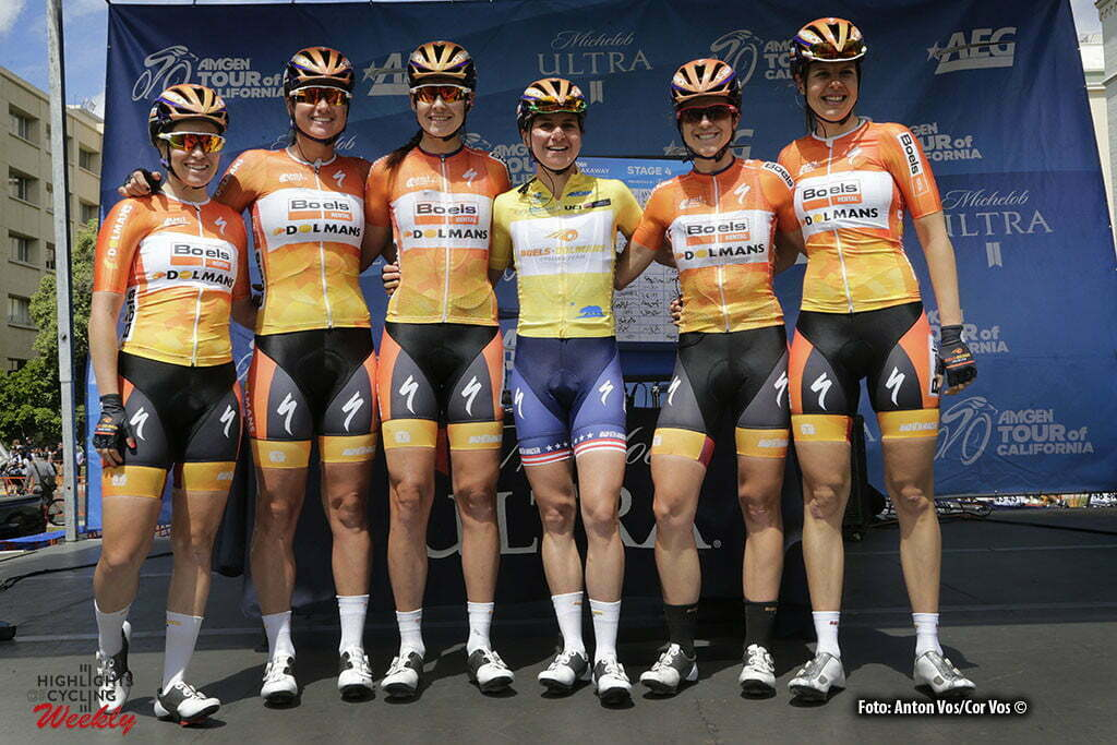 Sacramento - USA - wielrennen - cycling - radsport - cyclisme - Boels Dolmans Cycling Team pictured during stage - 4 of the Amgen Breakaway From Heart Disease Women's Race from Sacramento to Sacramento - photo Anton Vos/Cor Vos © 2016