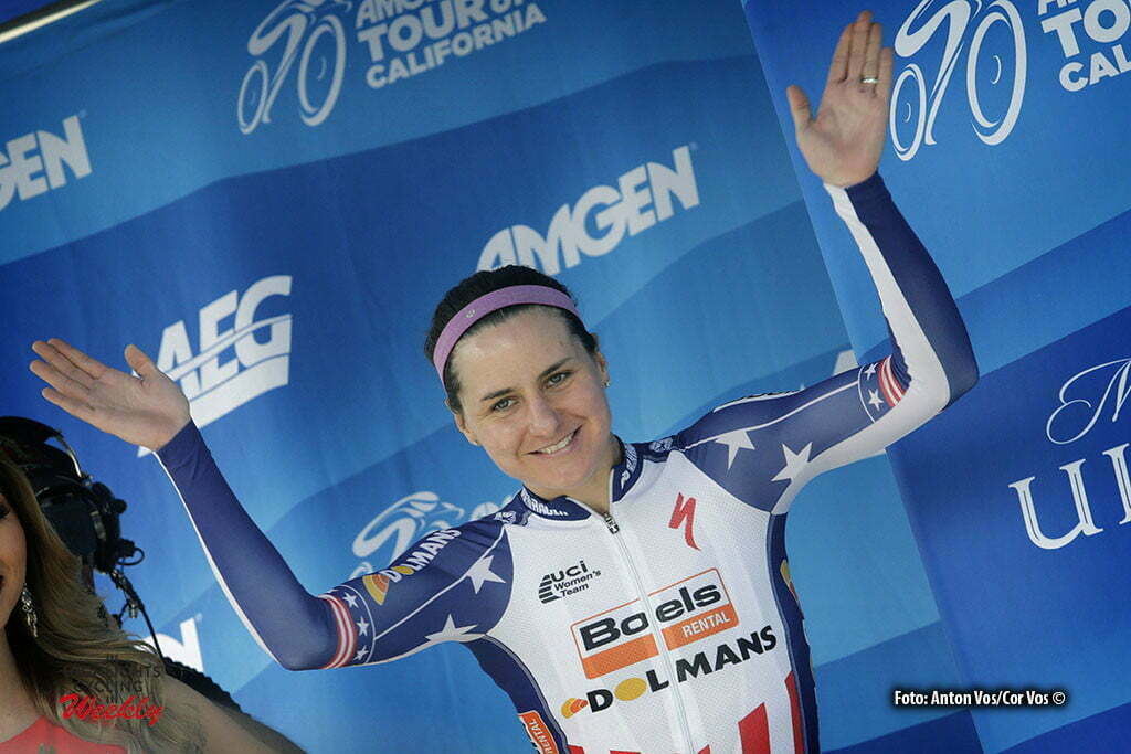 Sacramento - USA - wielrennen - cycling - radsport - cyclisme - Guarnier Megan (USA / Boels Dolmans Cycling Team) pictured during stage - 4 of the Amgen Breakaway From Heart Disease Women's Race from Sacramento to Sacramento - photo Anton Vos/Cor Vos © 2016