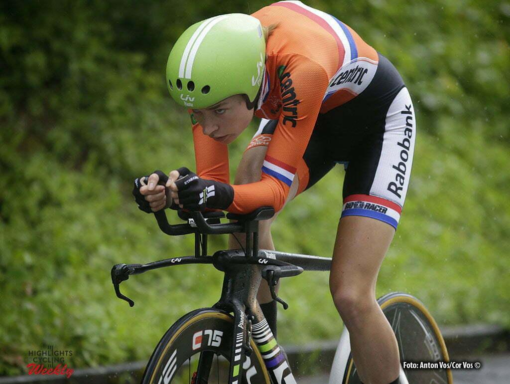 Auenstein - Germany - wielrennen - cycling - radsport - cyclisme - Markus Riejanne (Netherlands / Liv - Plantur) pictured during stage 2 of the Auensteiner Radsporttage - photo Anton Vos/Cor Vos © 2016