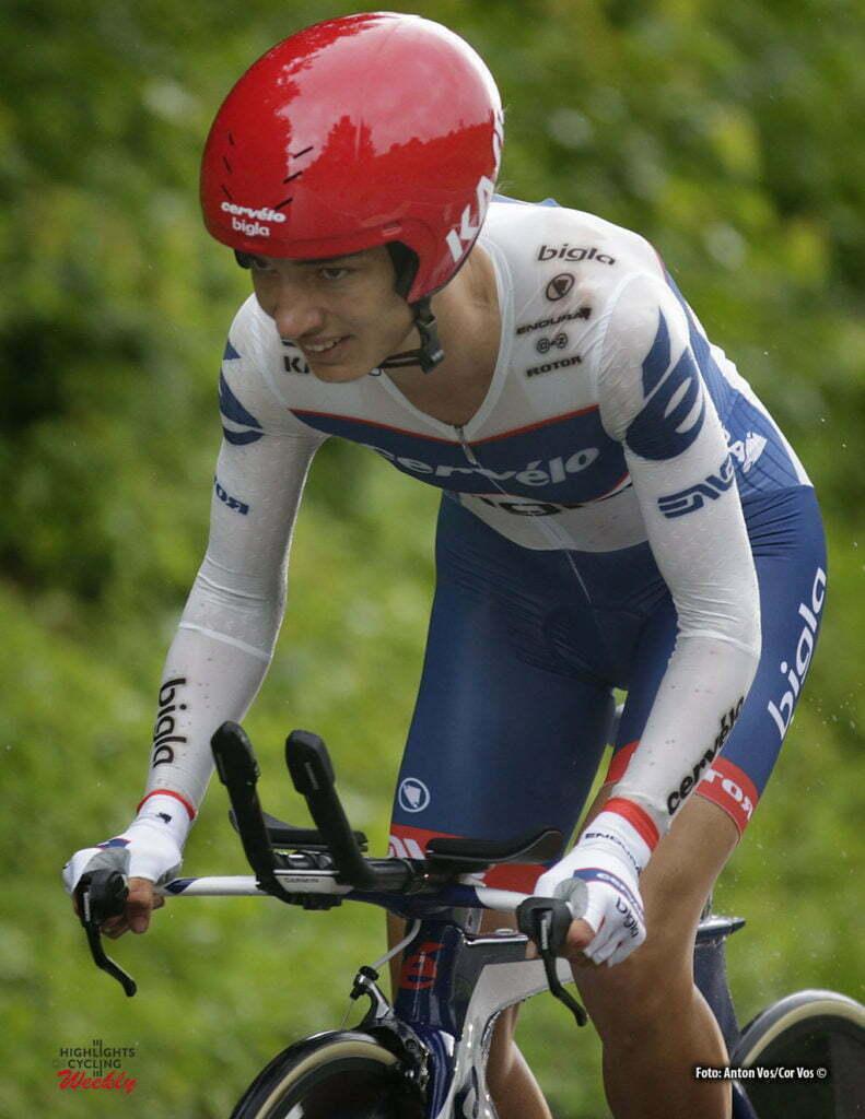 Auenstein - Germany - wielrennen - cycling - radsport - cyclisme - Moolman-Pasio Ashleigh (South Africa / Cervelo Bigla) pictured during stage 2 of the Auensteiner Radsporttage - photo Anton Vos/Cor Vos © 2016