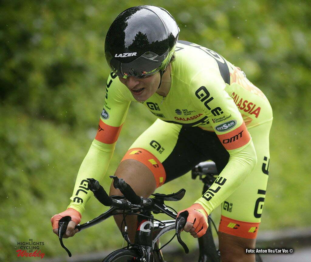 Auenstein - Germany - wielrennen - cycling - radsport - cyclisme - Jasinska Malgorzata (Poland / Ale - Cipollini) pictured during stage 2 of the Auensteiner Radsporttage - photo Anton Vos/Cor Vos © 2016