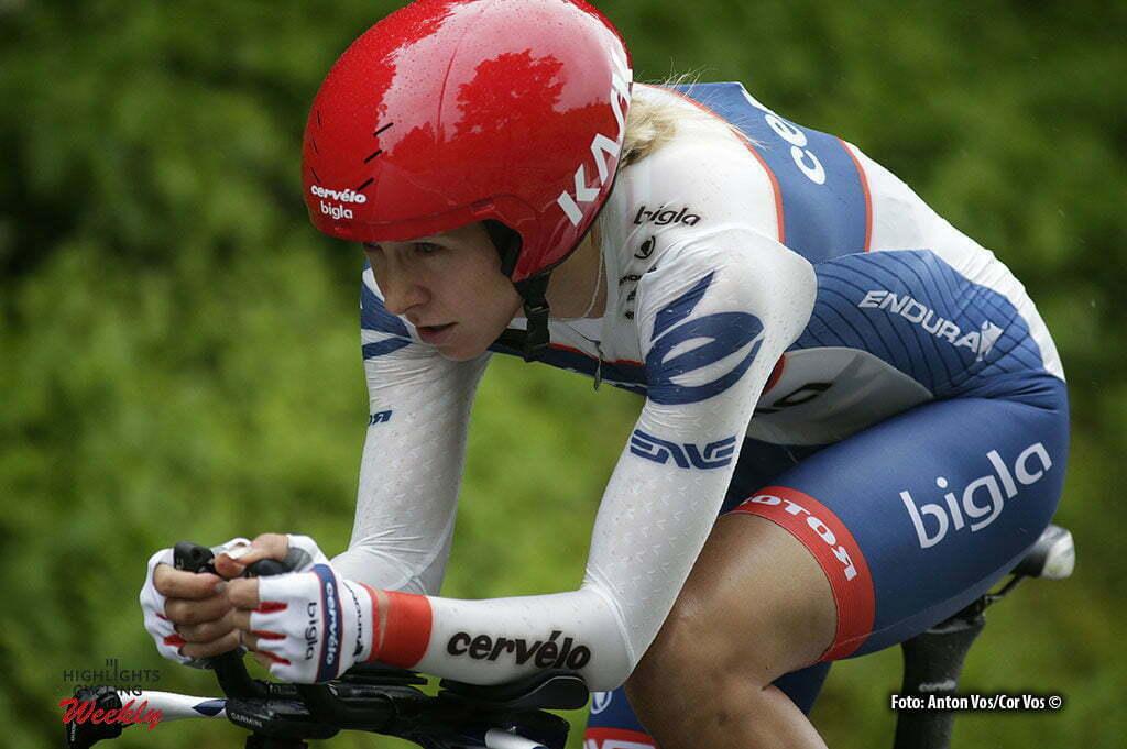 Auenstein - Germany - wielrennen - cycling - radsport - cyclisme - Pohl Stephanie (Germany / Cervelo Bigla) pictured during stage 2 of the Auensteiner Radsporttage - photo Anton Vos/Cor Vos © 2016