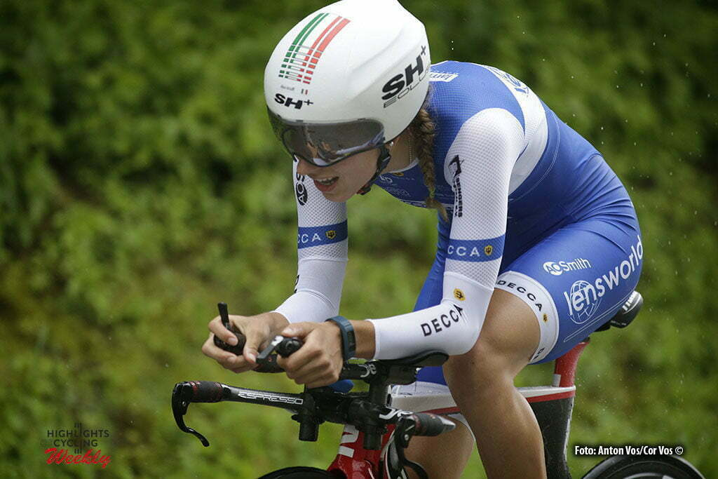 Auenstein - Germany - wielrennen - cycling - radsport - cyclisme - Arzuffi Alice Maria (Italy / Lensworld - Zannata) pictured during stage 2 of the Auensteiner Radsporttage - photo Anton Vos/Cor Vos © 2016