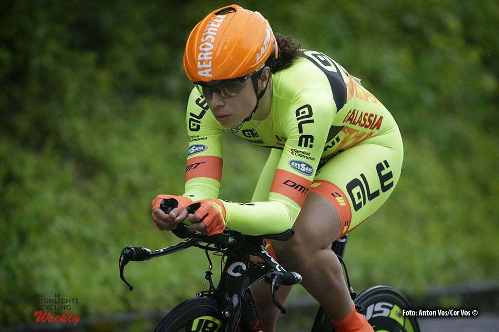 Auenstein - Germany - wielrennen - cycling - radsport - cyclisme - Cucinotta Annalisa (Italy / Ale - Cipollini) pictured during stage 2 of the Auensteiner Radsporttage - photo Anton Vos/Cor Vos © 2016