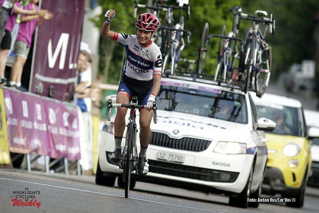Auenstein - Germany - wielrennen - cycling - radsport - cyclisme - Moolman-Pasio Ashleigh (South Africa / Cervelo Bigla) pictured during stage 3 of the Auensteiner Radsporttage - photo Anton Vos/Cor Vos © 2016