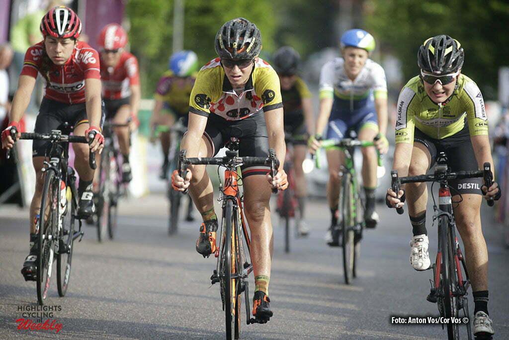 Auenstein - Germany - wielrennen - cycling - radsport - cyclisme - Jasinska Malgorzata (Poland / Ale - Cipollini) pictured during stage 3 of the Auensteiner Radsporttage - photo Anton Vos/Cor Vos © 2016