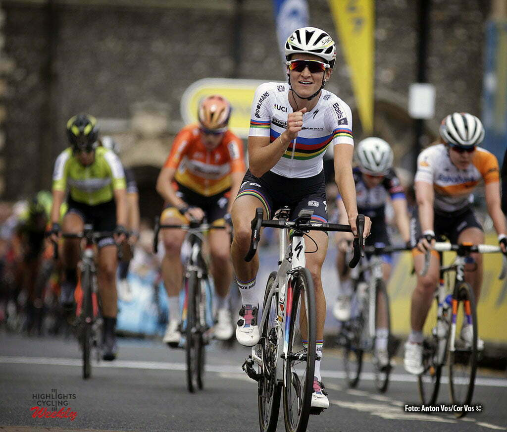 Norwich - England - wielrennen - cycling - radsport - cyclisme - Armitstead Elizabeth Lizzie (Great Britain / Boels Dolmans Cycling Team) pictured during Women's Tour of Great Britain stage- 1 from Southwold to Norwich - photo Anton Vos/Cor Vos © 2016