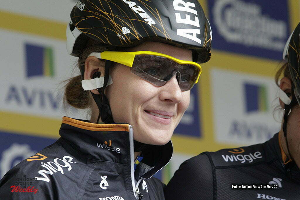 Stratford-upon-Avon - England - wielrennen - cycling - radsport - cyclisme - Johansson Emma (Sweden / Wiggle High5) pictured during Women's Tour of Great Britain stage- 2 from Atherstone to Stratford-upon-Avon - photo Anton Vos/Cor Vos © 2016