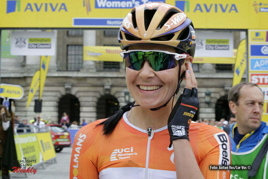 Stoke-on-Trent - England - wielrennen - cycling - radsport - cyclisme - Harris Nikki (Great Britain / Boels Dolmans Cycling Team) pictured during Women's Tour of Great Britain stage- 4 from Nottingham to Stoke-on-Trent - photo Anton Vos/Cor Vos © 2016