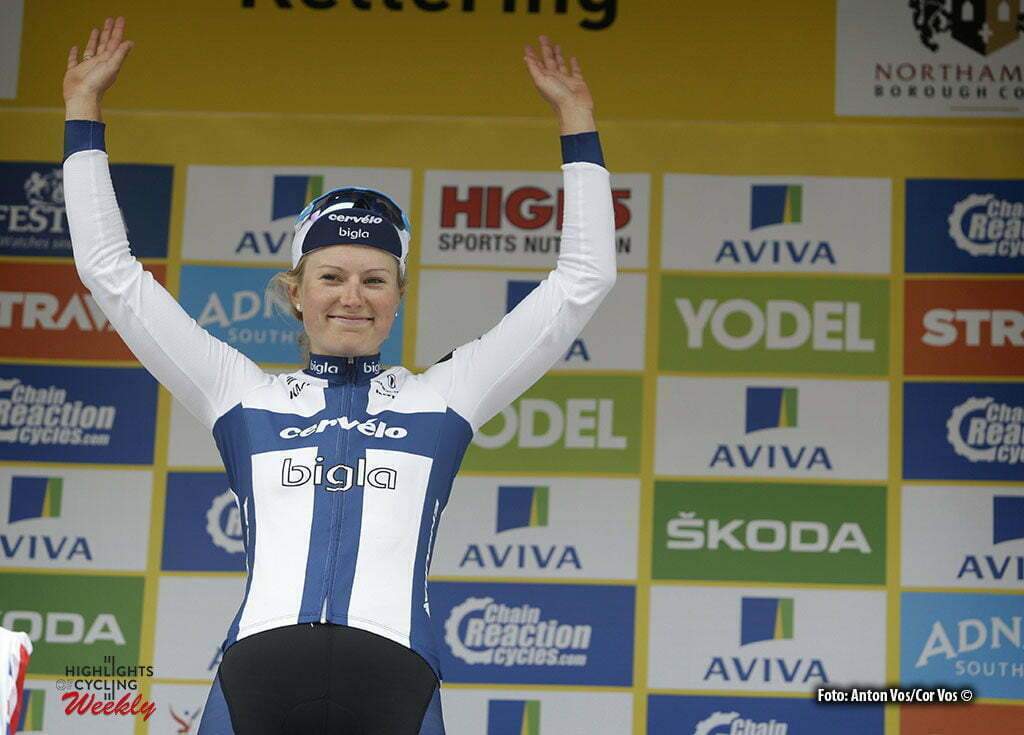 Kettering - England - wielrennen - cycling - radsport - cyclisme - Lepisto Lotta (Finland / Cervelo Bigla) pictured during Women's Tour of Great Britain stage- 5 from Northampton to Kettering - photo Anton Vos/Cor Vos © 2016