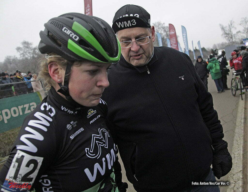 Baal - Belgium- wielrennen - cycling - radsport - cyclisme - Kastelijn Yara (Netherlands / WM3 Pro Cycling) with Peter van Tuijl pictured during DVV Trofee women's edition of Baal in Belgium - photo Anton Vos/Cor Vos © 2017