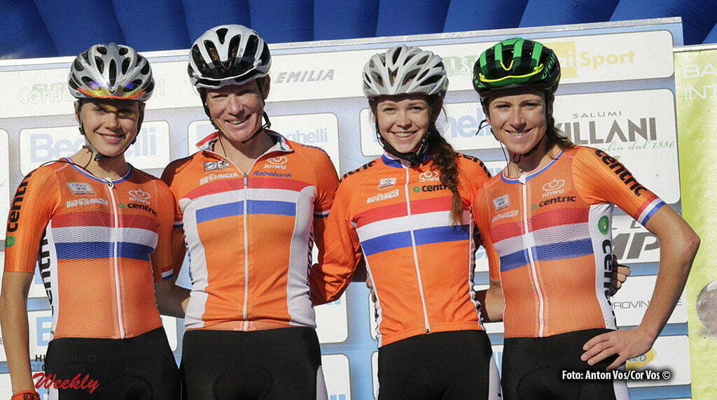 Monteveglio - Italy - wielrennen - cycling - radsport - cyclisme - The Netherlands pictured during Gran Premio Bruno Beghelli Internazionale Donne Elite - photo Anton Vos/Cor Vos © 2016