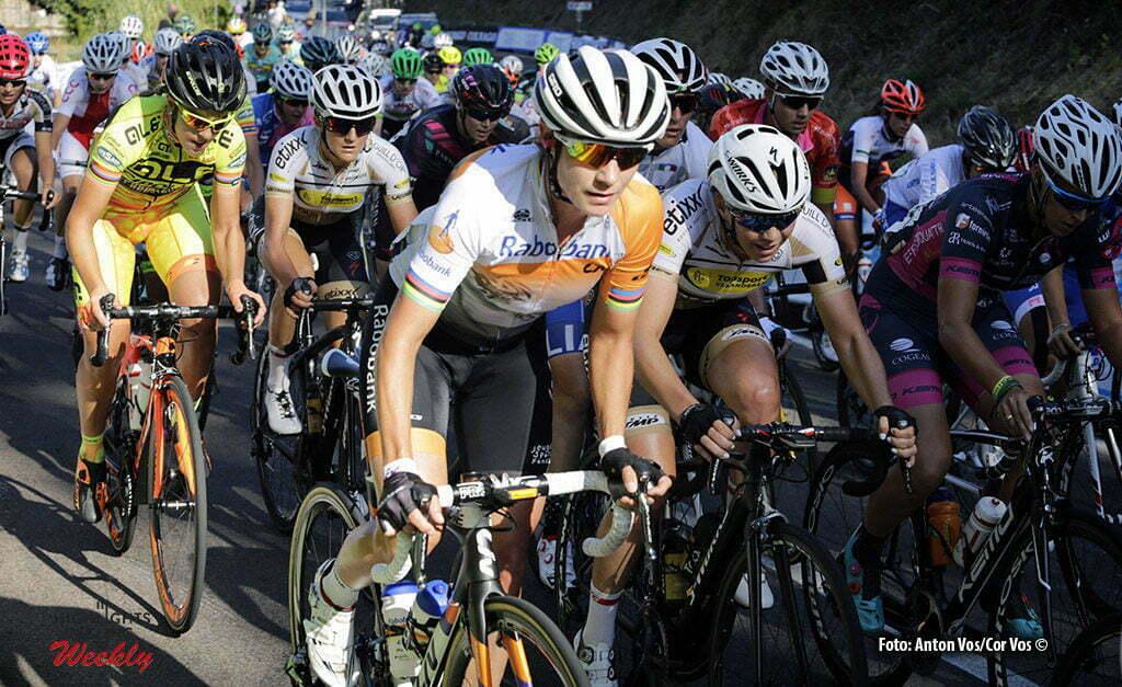 Monteveglio - Italy - wielrennen - cycling - radsport - cyclisme - Vos Marianne (Netherlands / Rabobank Liv Women Cycling Team) pictured during Gran Premio Bruno Beghelli Internazionale Donne Elite - photo Anton Vos/Cor Vos © 2016