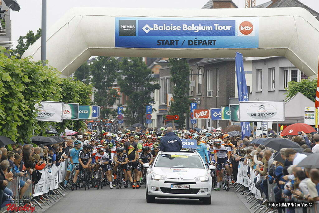 Tongeren - Belgium - wielrennen - cycling - radsport - cyclisme - pictured during stage 5 of the 2016 Baloise Belgium Tour Tongeren - Belgium - wielrennen - cycling - radsport - cyclisme - illustration - sfeer - illustratie start in Tremelo pictured during stage 5 of the 2016 Baloise Belgium Tour cycling race with start in Tremelo and finish in Tongeren - Belgium - photo JdM/PN/Cor Vos © 2016