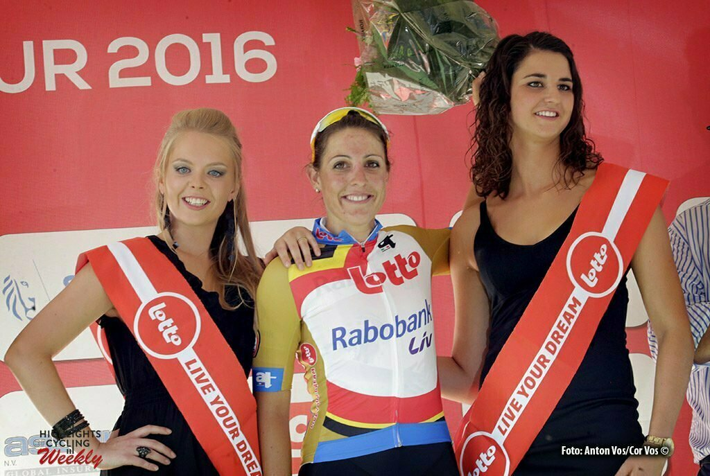 Moorslede - Belgium - wielrennen - cycling - radsport - cyclisme - Brand Lucinda (Netherlands / Rabobank Liv Women Cycling Team) pictured during the Lotto Belgium Tour stage 2 - photo Anton Vos/Cor Vos © 2016