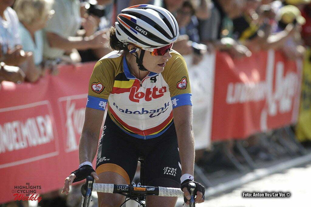 Geraardsbergen - Belgium - wielrennen - cycling - radsport - cyclisme - Vos Marianne (Netherlands / Rabobank Liv Women Cycling Team) pictured during the Lotto Belgium Tour stage 3 - photo Anton Vos/Cor Vos © 2016