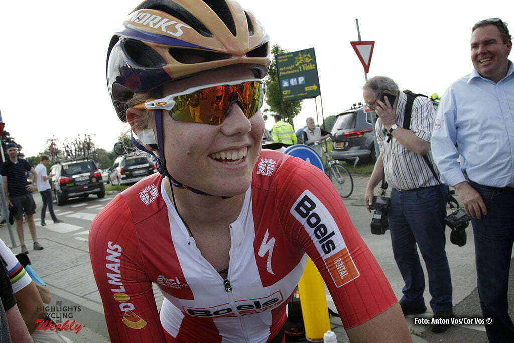 Berg en Terblijt - Netherlands - wielrennen - cycling - radsport - cyclisme - Dideriksen Amalie (Denmark / Boels Dolmans Cycling Team) - pictured during the Boels Hills Classic 2016 from Sittard to Berg en Terblijt - women's cyclingrace - photo Anton Vos/Cor Vos © 2015