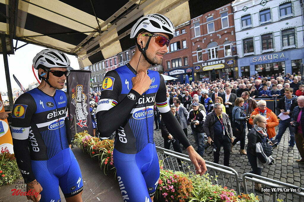 Binche - Belgium - wielrennen - cycling - radsport - cyclisme - Tom Boonen (Belgium / Team Etixx - Quick Step) pictured during the Belgian Cycling Cup Binche - Chimay - Binche (195 kms) Memorial Frank Vandenbroucke on October 04, 2016 in Binche, Belgium, 4/10/2016 - photo VK/PN/Cor Vos © 2016