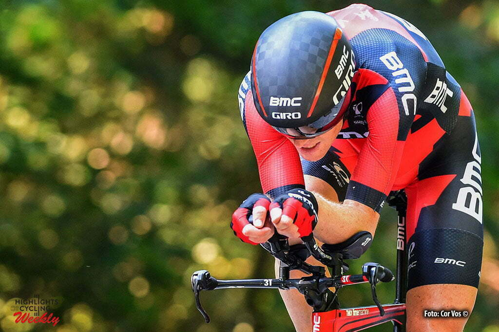 Postel - Belgium - wielrennen - cycling - radsport - cyclisme - Ben Hermans (Belgium / BMC Racing Team) during the National Time Trial Campionship cycling of Belgium Elites in Postel Belgium - photo PN/Cor Vos © 2016