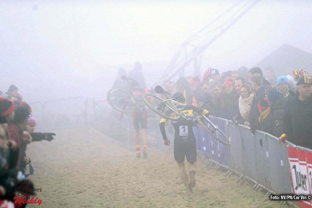 Oostende - Belgium - wielrennen - cycling - radsport - cyclisme - illustration - sfeer - illustratie pictured during the Belgian national championships cyclocross u23 men race 2017 at the Ostend Hippodrome on January 08, 2017 in Oostende, Belgium - photo NV/PN/Cor Vos © 2017