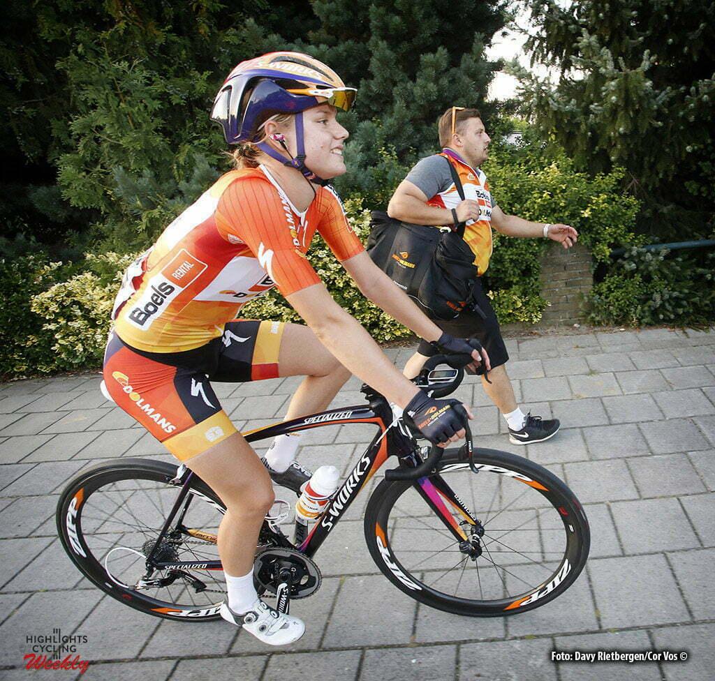 Tiel - Netherlands - wielrennen - cycling - radsport - cyclisme - Dideriksen Amalie (Denmark / Boels Dolmans Cycling Team) pictured during the Boels Ladies Tour stage 1 from Tiel to Tiel- photo Davy Rietbergen/Cor Vos © 2016