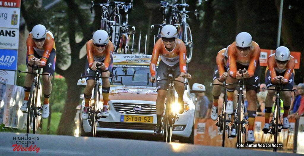 Gennep - Netherlands - wielrennen - cycling - radsport - cyclisme - Boels Dolmans Cycling Team pictured during the Boels Ladies Tour stage 2 from Gennep to Gennep TTT - photo Anton Vos/Cor Vos © 2016