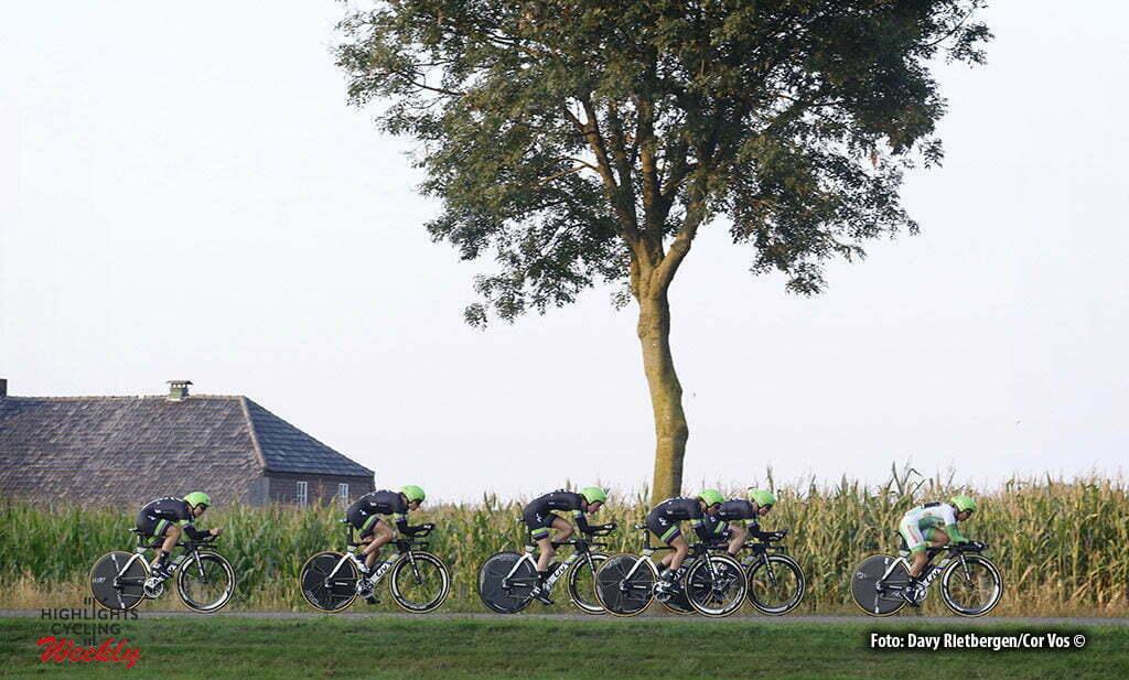 Gennep - Netherlands - wielrennen - cycling - radsport - cyclisme - Liv Plantur pictured during the Boels Ladies Tour stage 2 from Gennep to Gennep TTT - photo Davy Rietbergen/Cor Vos © 2016