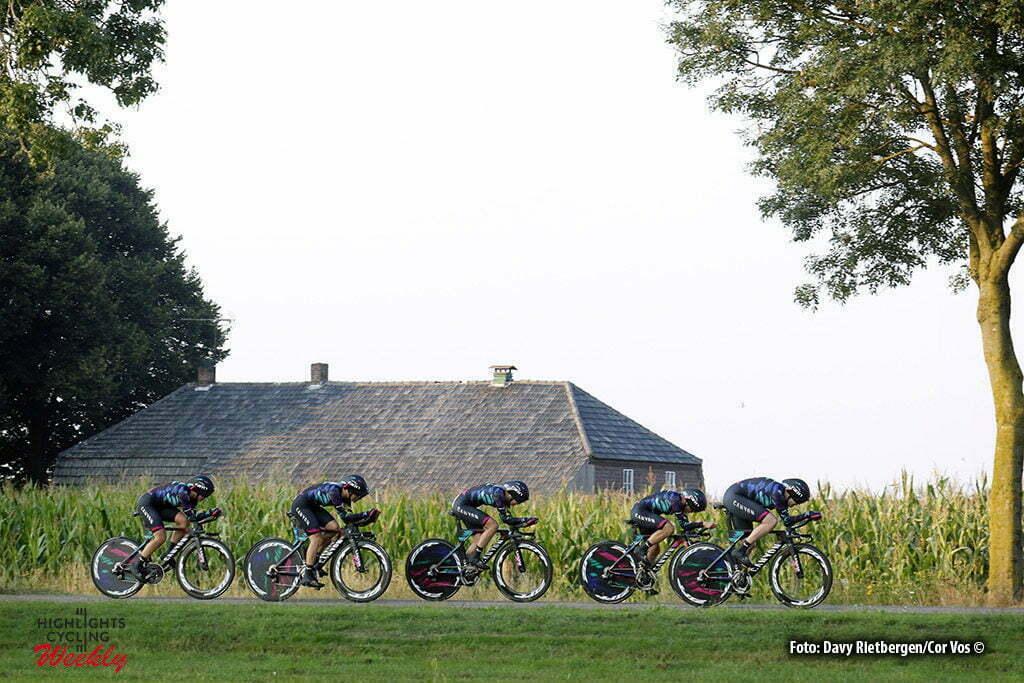 Gennep - Netherlands - wielrennen - cycling - radsport - cyclisme - Canyon Sram Racing pictured during the Boels Ladies Tour stage 2 from Gennep to Gennep TTT - photo Davy Rietbergen/Cor Vos © 2016
