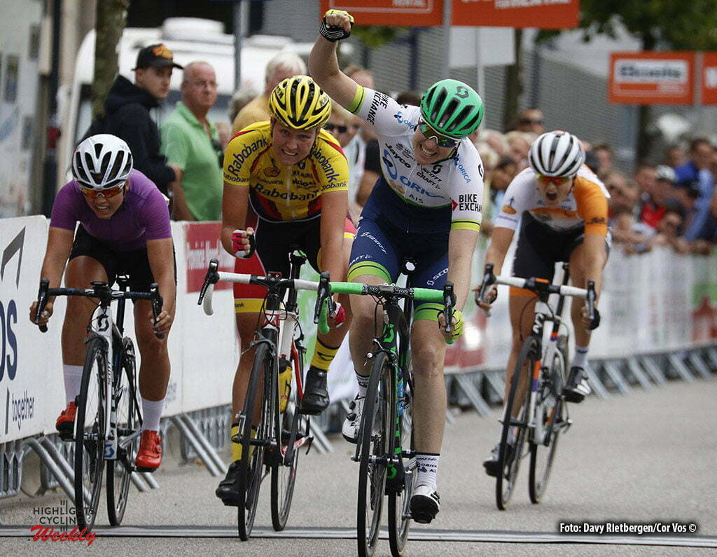 's Hertogenbosch - Netherlands - wielrennen - cycling - radsport - cyclisme - Roy Sarah (Australia / Orica AIS) pictured during the Boels Ladies Tour stage 4 from 's Hertogenbosch to 's Hertogenbosch - photo Davy Rietbergen/Cor Vos © 2016