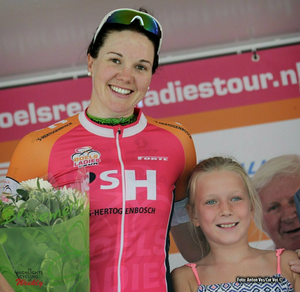 's Hertogenbosch - Netherlands - wielrennen - cycling - radsport - cyclisme - Roy Sarah (Australia / Orica AIS ) - pictured during the Boels Ladies Tour stage 4 from 's Hertogenbosch to 's Hertogenbosch - photo Anton Vos/Cor Vos © 2016
