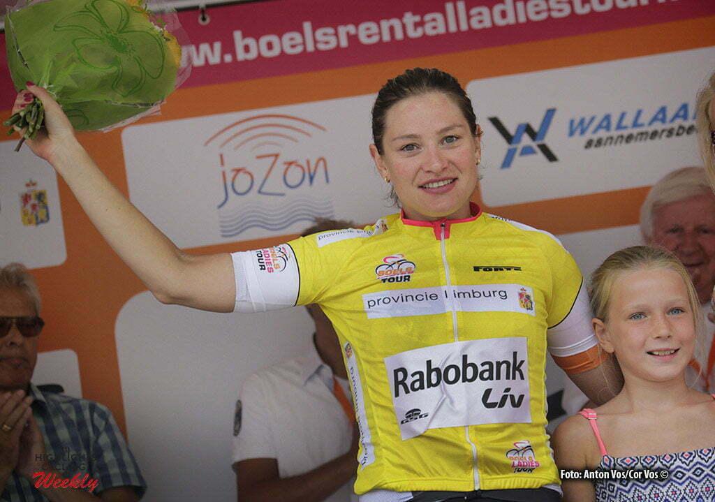 's Hertogenbosch - Netherlands - wielrennen - cycling - radsport - cyclisme - Knetemann Roxane (Netherlands / Rabobank Liv Women Cycling Team) - pictured during the Boels Ladies Tour stage 4 from 's Hertogenbosch to 's Hertogenbosch - photo Anton Vos/Cor Vos © 2016