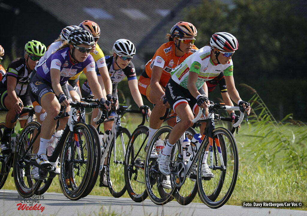 's Hertogenbosch - Netherlands - wielrennen - cycling - radsport - cyclisme - Blaak Chantal (Netherlands / Boels Dolmans Cycling Team) - Niewiadoma Katarzyna Kasia (Poland / Rabobank Liv Women Cycling Team) pictured during the Boels Ladies Tour stage 4 from 's Hertogenbosch to 's Hertogenbosch - photo Davy Rietbergen/Cor Vos © 2016