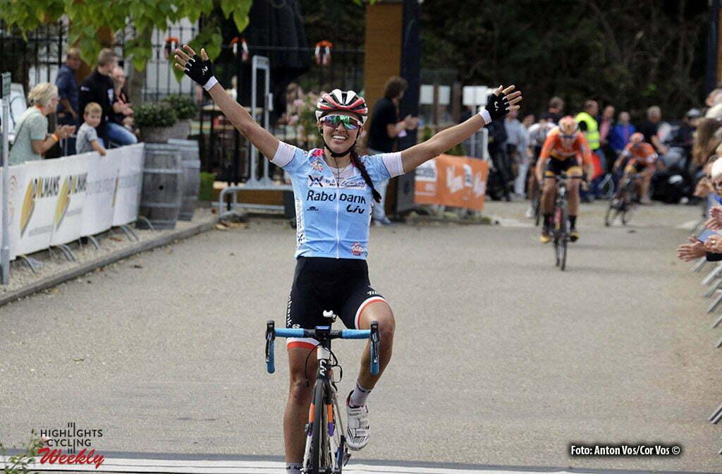 Valkenburg - Netherlands - wielrennen - cycling - radsport - cyclisme - Niewiadoma Katarzyna Kasia (Poland / Rabobank Liv Women Cycling Team) pictured during the Boels Ladies Tour stage 6 from Bunde to Valkenburg - photo Anton Vos/Cor Vos © 2016