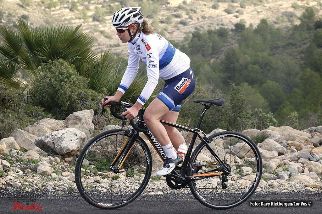 Calpe - Spain - wielrennen - cycling - radsport - cyclisme - Anna Van der Breggen (Netherlands / Rabobank Liv Women Cycling Team) pictured during fotoshoot team Boels - Dolmans 2017 in Calpe, Spain - photo Davy Rietbergen/Cor Vos © 2016