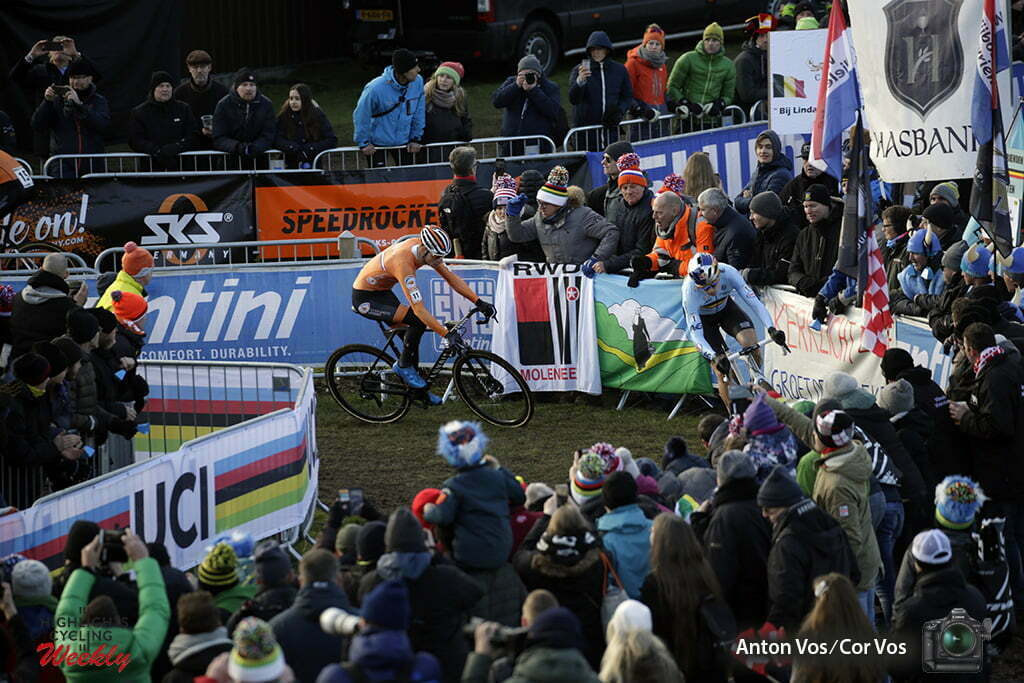 WK cyclocross in Bogense elite