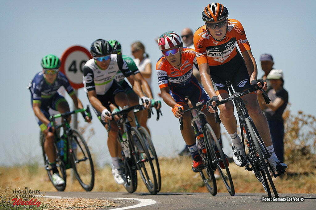 Lerma - Spain - wielrennen - cycling - radsport - cyclisme - Jesper Asselman (Netherlands / Roompot - Oranje Peloton) pictured during Vuelta a Burgos 2016 stage 4 from Aranda to Lerma - photo Louis Angel Gomez/Cor Vos © 2016