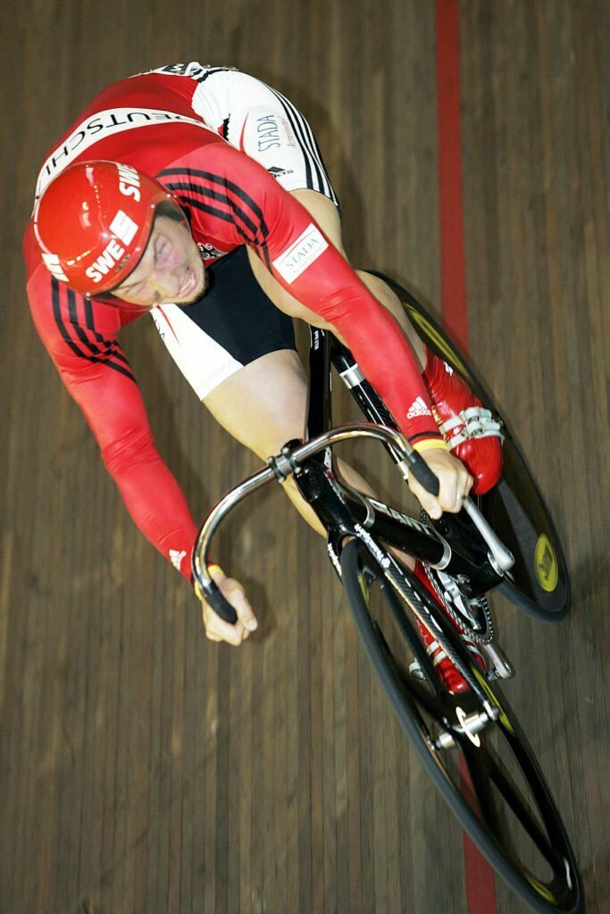 Bordeaux - Frankrijk - wielrennen -cycling - cyclisme - radsport - Bahn-WM - WK Baan - WC Track - Rene Wolff - foto Cor Vos ©2006